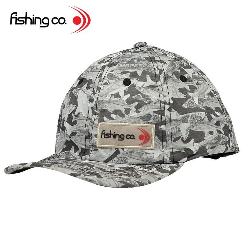 Boné Fishing co. Robalo - Regulável - Ref. 01.3001  - MGPesca