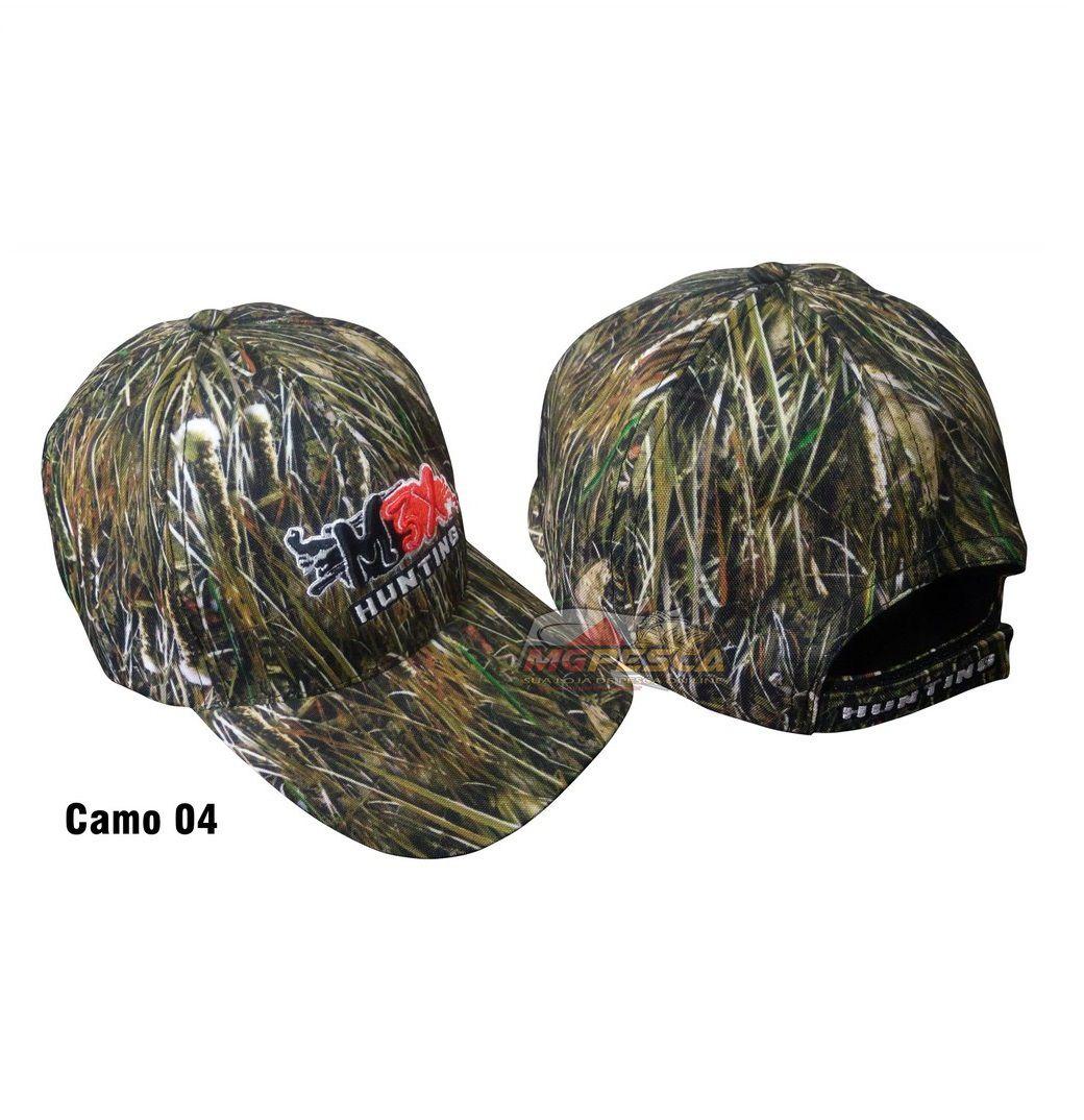 Boné Monster 3x Hunting Camo 04  - MGPesca