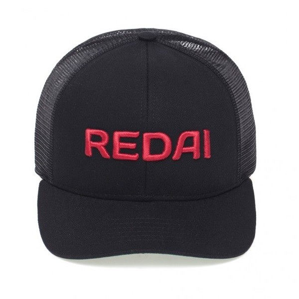 Boné Redai - Preto Tela Preta  - MGPesca