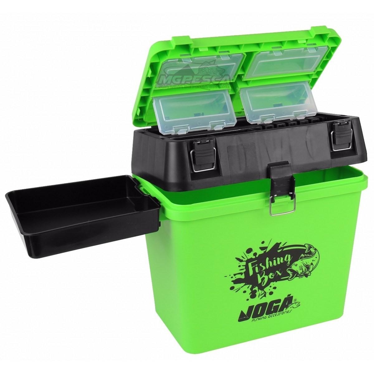 Caixa de Pesca Mochila Jogá Fishing Box  - MGPesca
