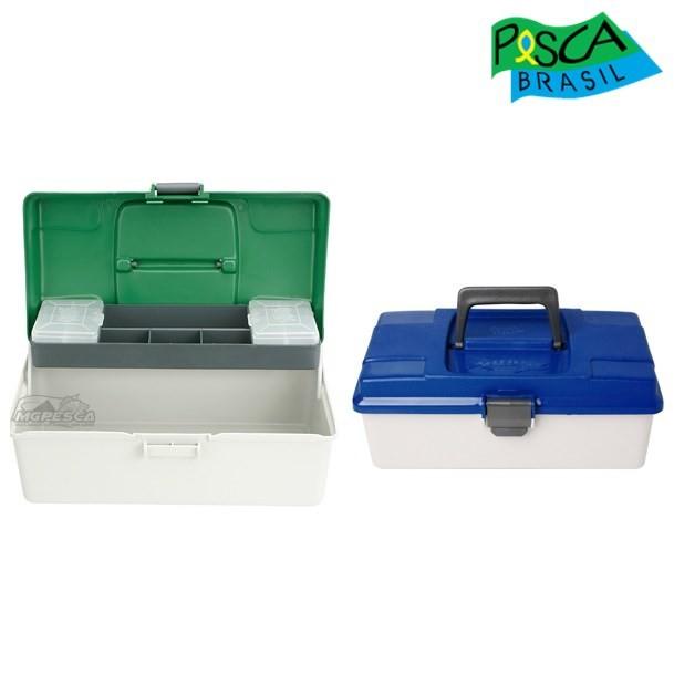 Caixa Pesca Brasil Maleta PB Box 1 - Azul ou Verde