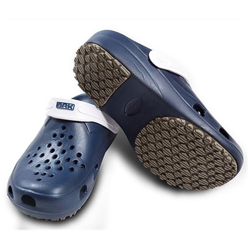 Calçado BRK Pro Fisher Babuch Antiderrapante BB31 - Azul com Alça Branca  - MGPesca