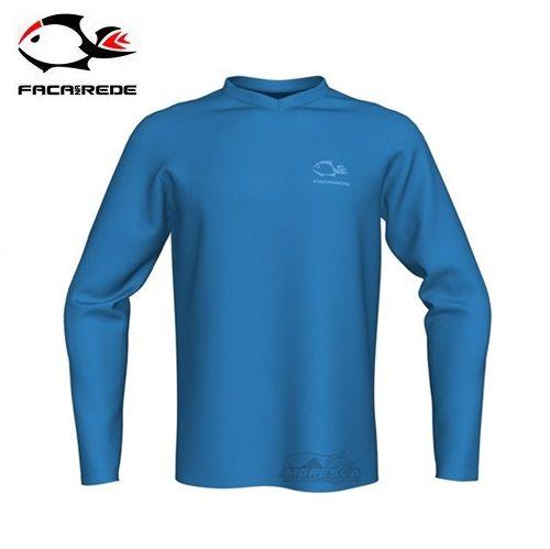 Camisa Faca na Rede Combat Clean Azul