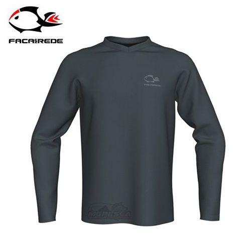 Camisa Faca na Rede Combat Clean Cinza