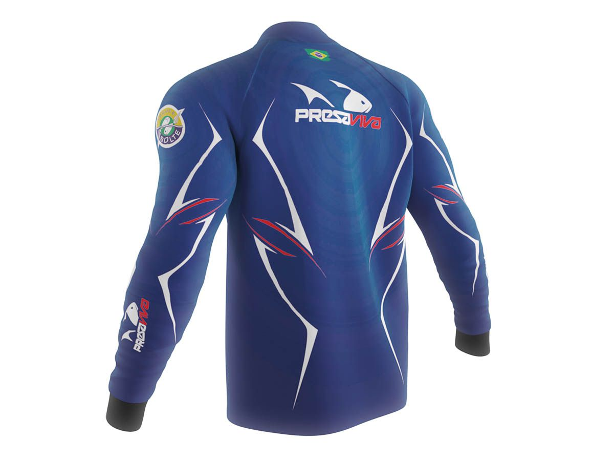 Camisa Presa Viva Uniforme 01  - MGPesca