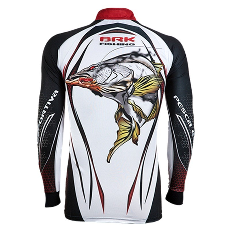Camiseta BRK Fishing C057 - Snook FPS 50+  - MGPesca
