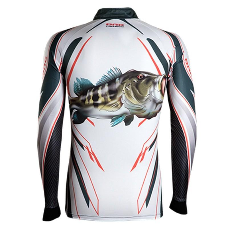 Camiseta BRK Fishing C082 - Tucunaré Azul FPS 50+  - MGPesca