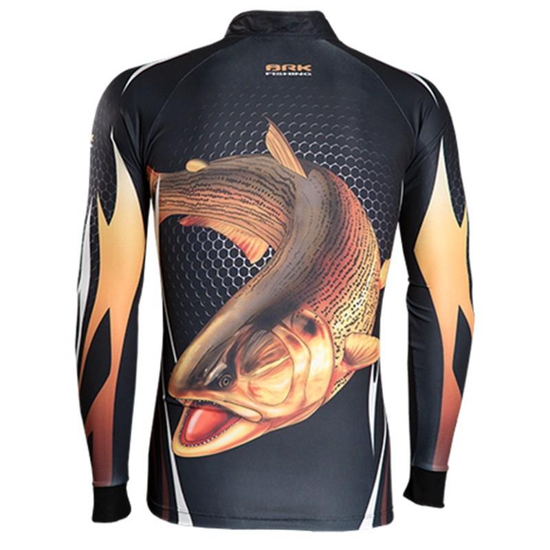 Camiseta BRK Fishing C091 - Bad Fish FPS 50+  - MGPesca