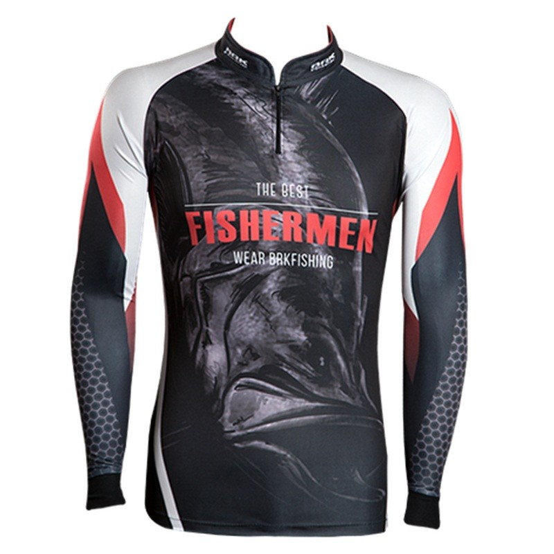 Camiseta BRK Fishing C092 - Bad Snook FPS 50+  - MGPesca