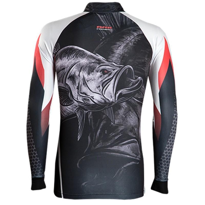 Camiseta BRK Fishing C092 - Bad Snook FPS 50+  - MGPesca
