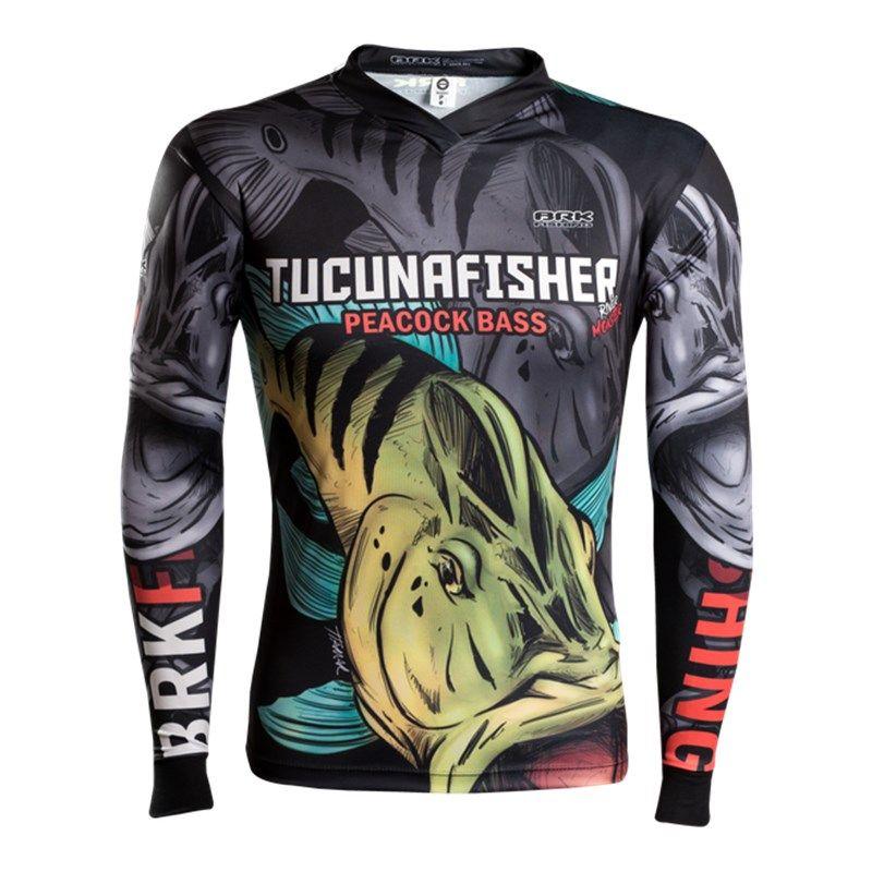 Camiseta BRK Fishing RM002 - River Monster Tucuna Fisher FPS 50+