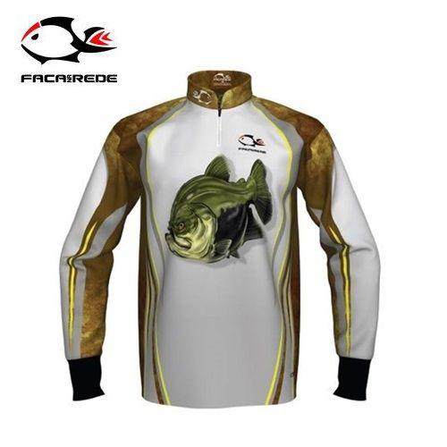 Camiseta Faca na Rede Combat S - Tambaqui  - MGPesca