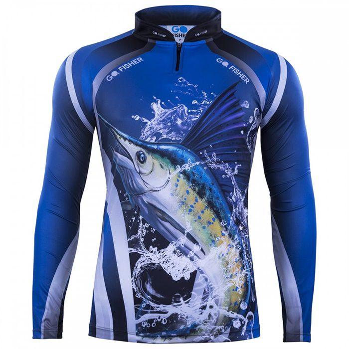 Camiseta Go Fisher GO 11 - Marlim