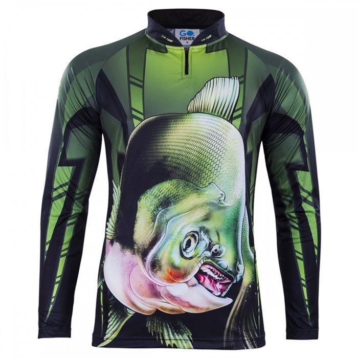 Camiseta Go Fisher Tamba - GO 04  - MGPesca