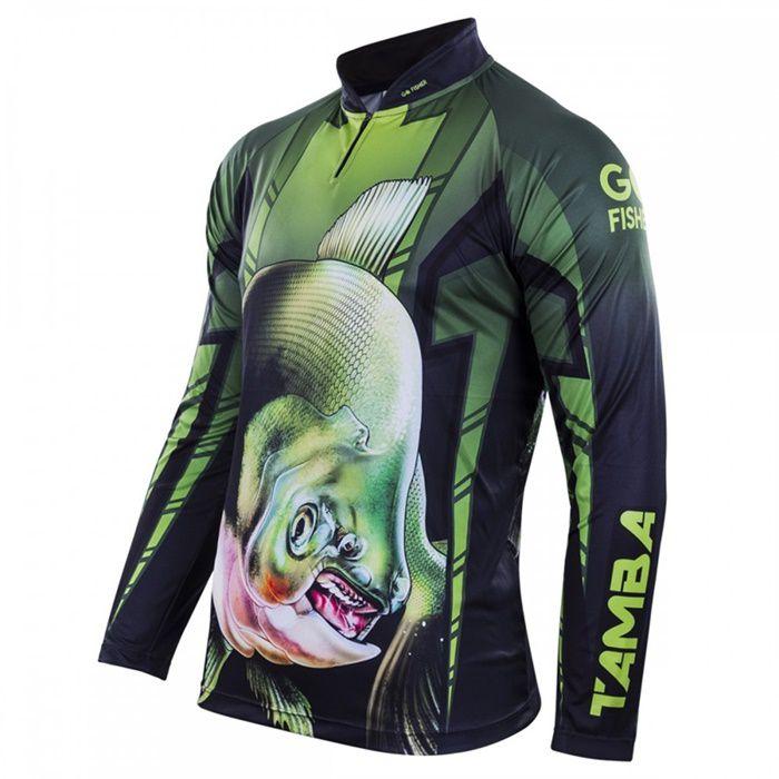 Camiseta Go Fisher GO 04 - Tamba   - MGPesca