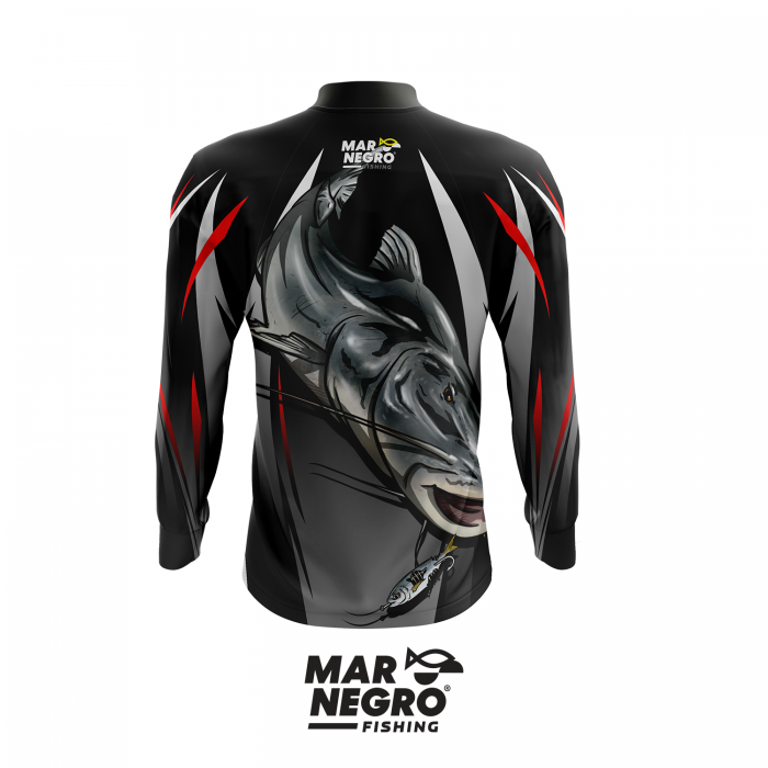 Camiseta Mar Negro Fishing Piraíba Ref. 30098  - MGPesca