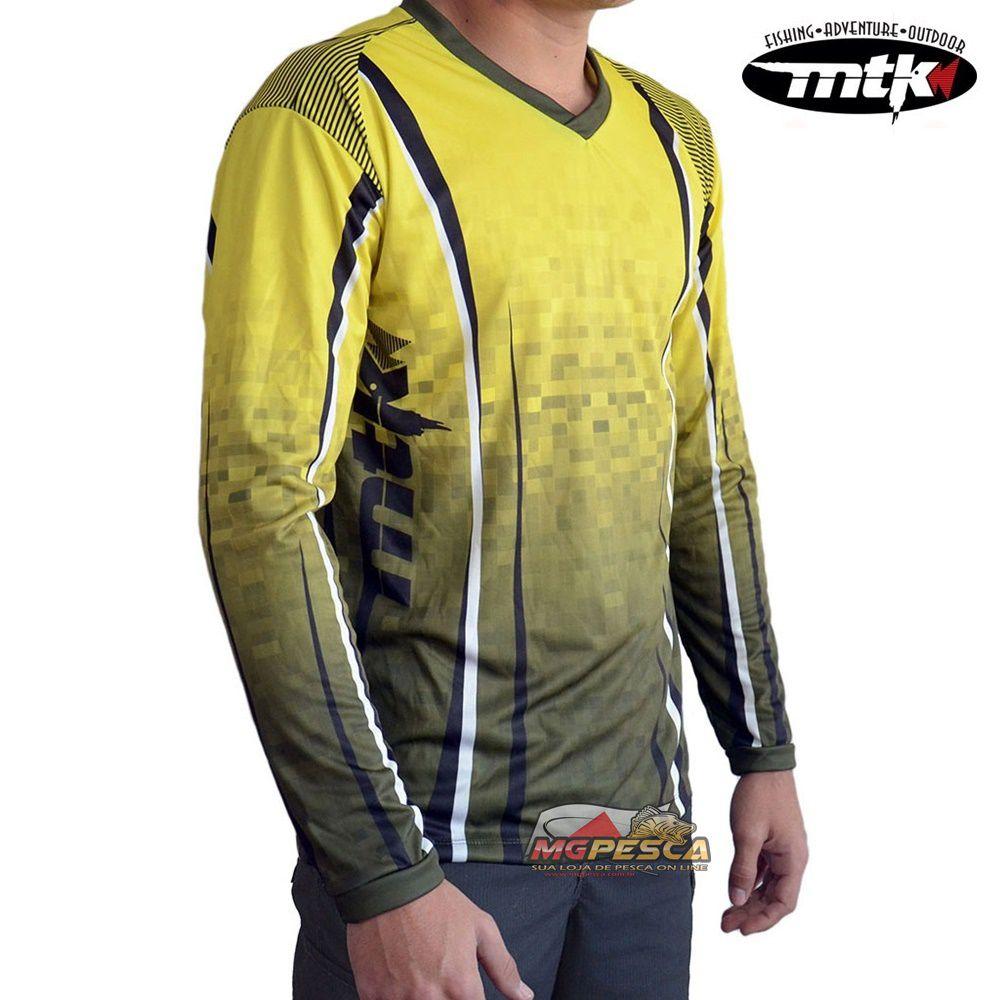 Camiseta MTK Atack V Amarela - FPS 35+