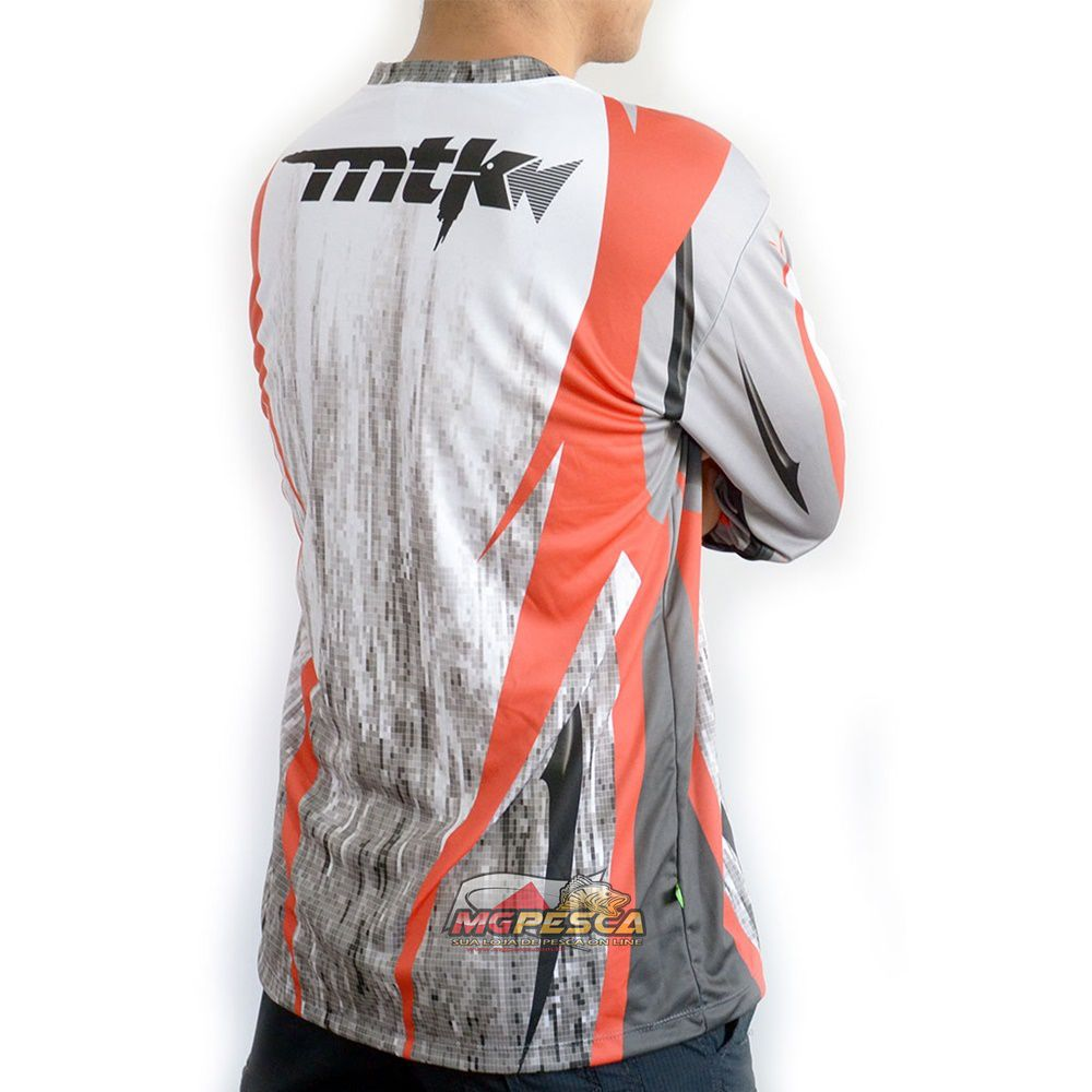 Camiseta MTK Atack V Tribal - FPS 35+  - MGPesca