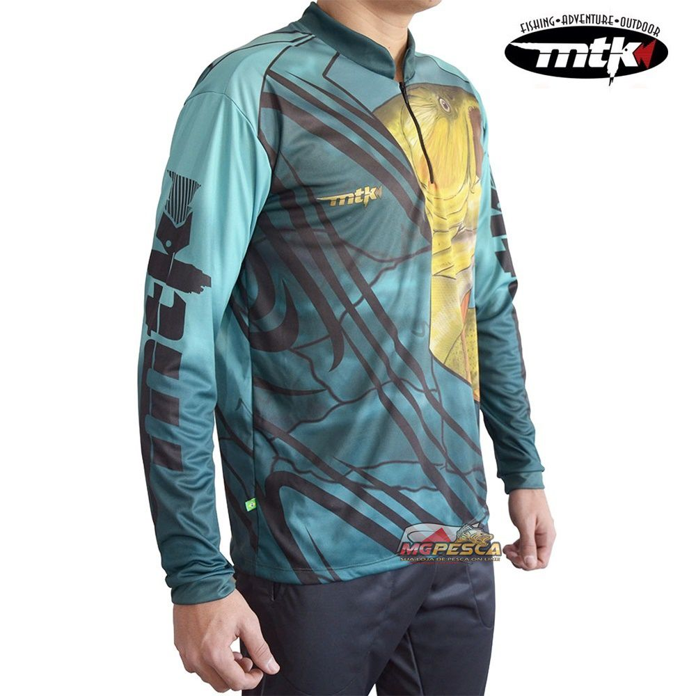 Camiseta MTK Atack Z Dourado - FPS 35+