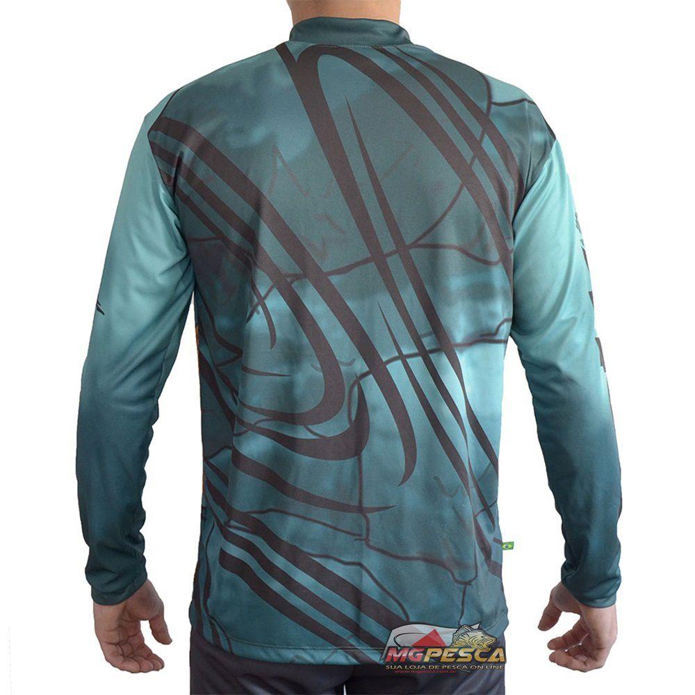 Camiseta MTK Atack Z Dourado - FPS 35+  - MGPesca