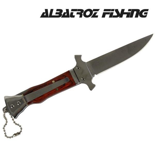 Canivete Albatroz Fishing ZD005 - 17,5 cm  - MGPesca