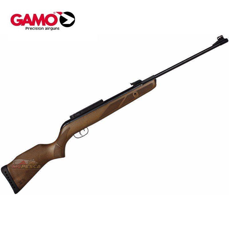 Carabina de Pressão Gamo Hunter 440 IGT Madeira - Calibre 4,5mm
