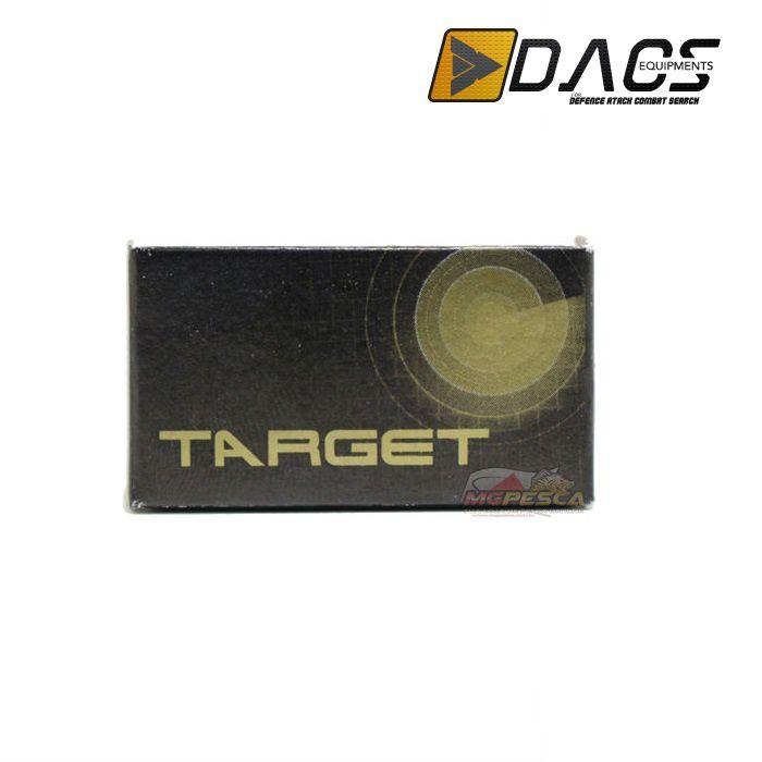 Chumbinho Dacs Target 4,5mm -  Caixinha c/ 200 unidades  - MGPesca