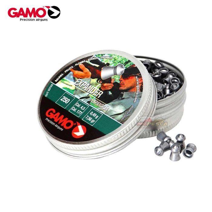 Chumbinho Gamo Pro Hunter Impact 4,5mm - Latinha c/ 250 unidades  - MGPesca
