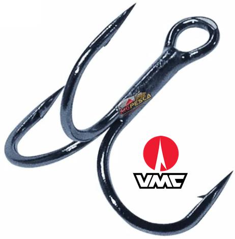 Garatéia VMC 9626BN Predator 3x - tamanho 01 - Pacote com 10 unidades  - MGPesca