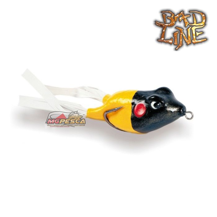 Isca Artificial Bad Line Speed Bad 65 ( Sapo Soft ) 6,5cm  - MGPesca