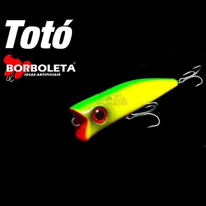 Isca Artificial Borboleta Totó  - MGPesca