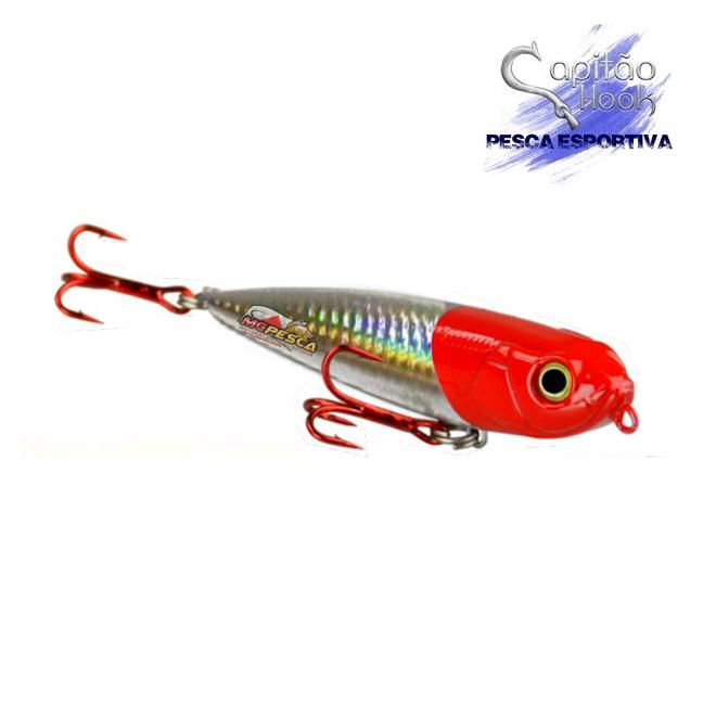 Isca Artificial Capitão Hook TOP 07 Aruanã - 10cm  - MGPesca