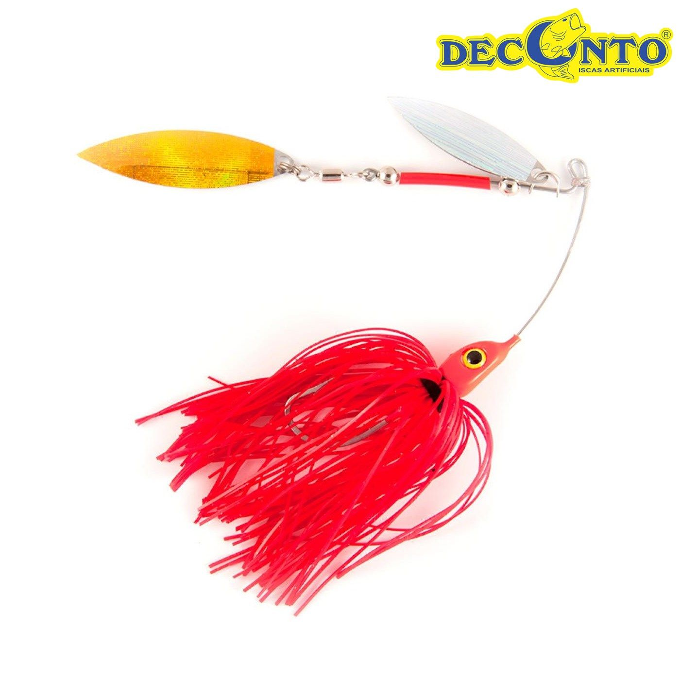 Isca Artificial Deconto Spinner Bait 2/0  - MGPesca