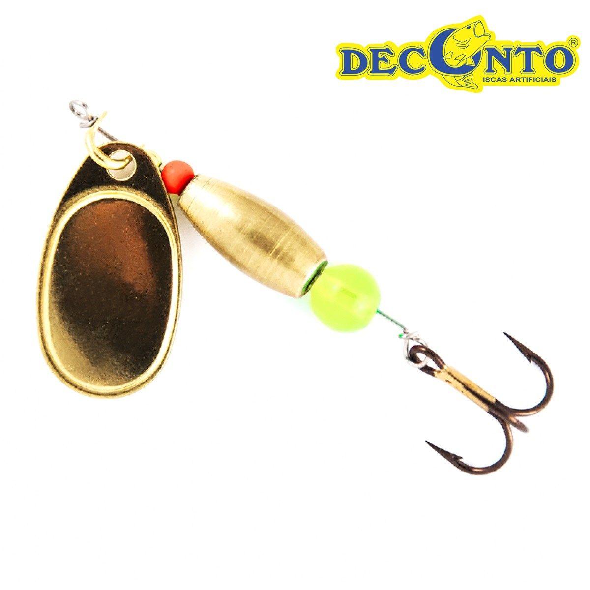 Isca Artificial Deconto Spinner Giromax 45 (4,5 gramas)  - MGPesca