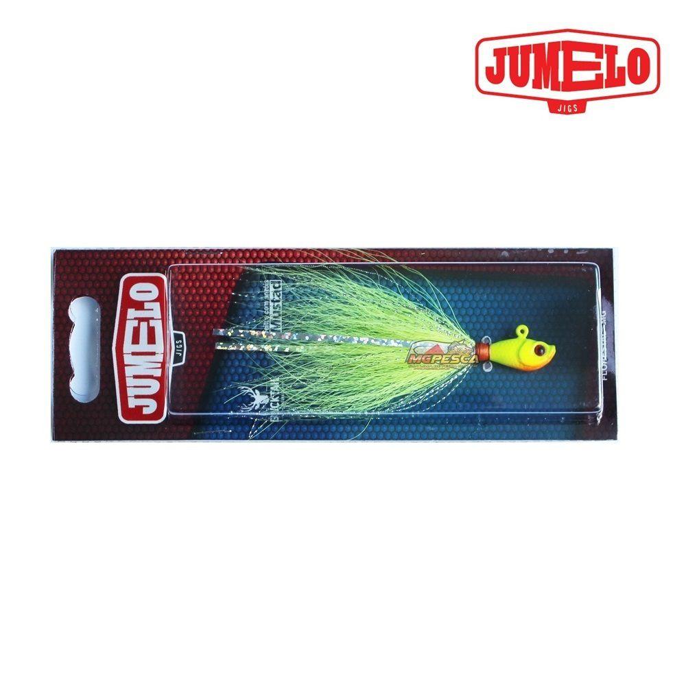 Isca Artificial Jumelo Jigs - Lambari 7g 2/0 - 10 Cores variadas  - MGPesca