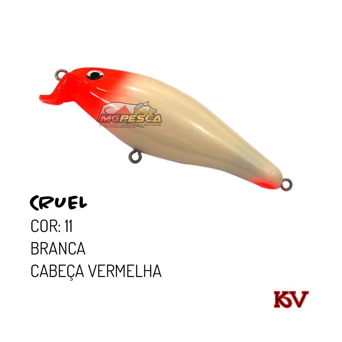 Isca Artificial KV Cruel 75 - 10g  - MGPesca