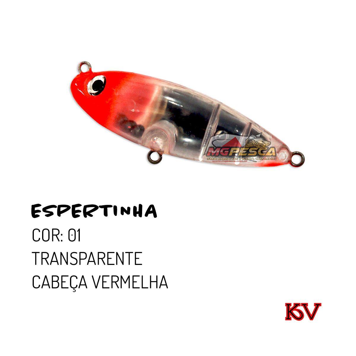 Isca Artificial KV Espertinha 65 - 9g  - MGPesca