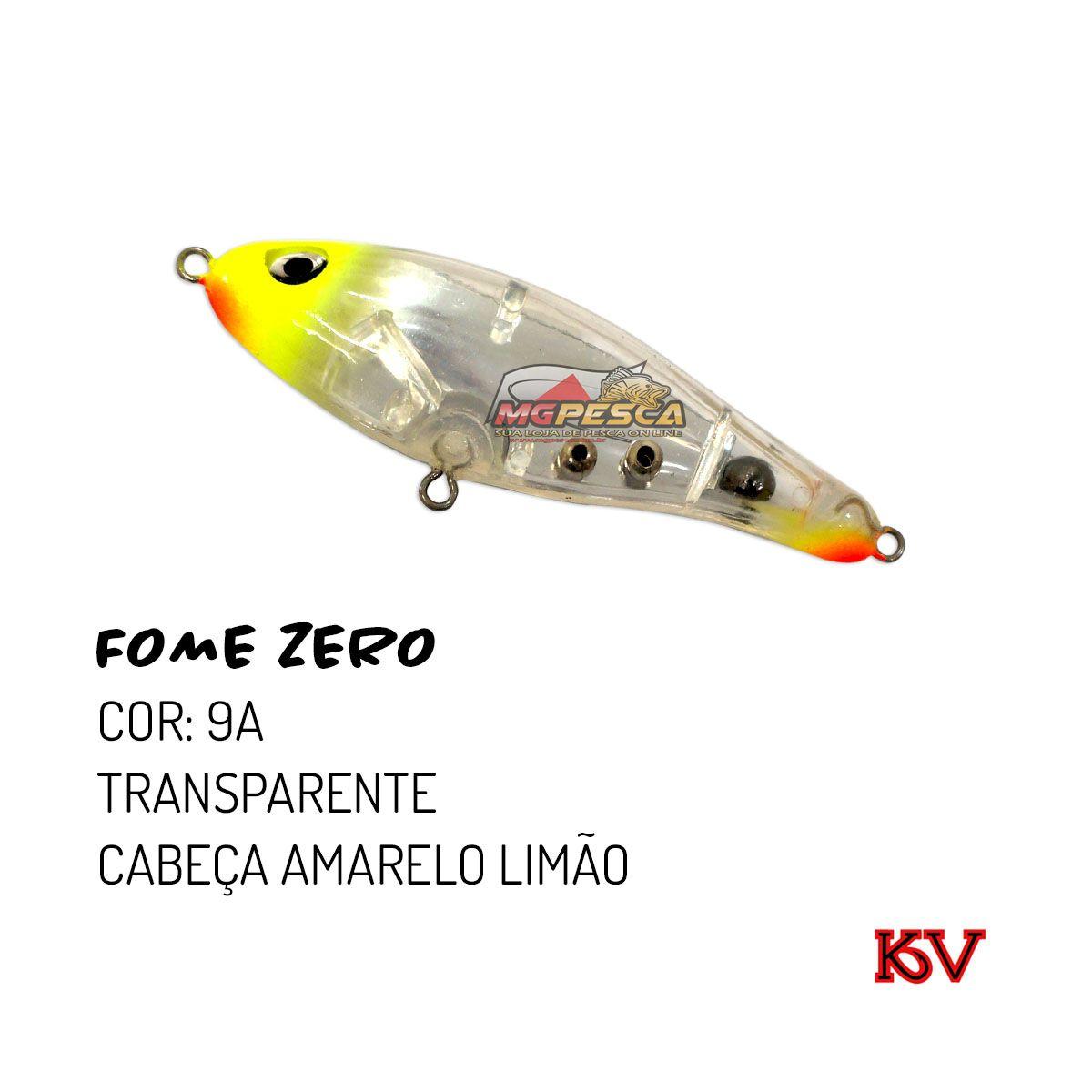 Isca Artificial KV Fome Zero 75 - 10g  - MGPesca