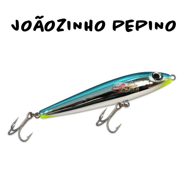 Isca Artificial KV Joãozinho Pepino 90 - 10g  - MGPesca