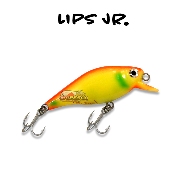 Isca Artificial KV Lips Jr Meia Água 58 - 5,5g