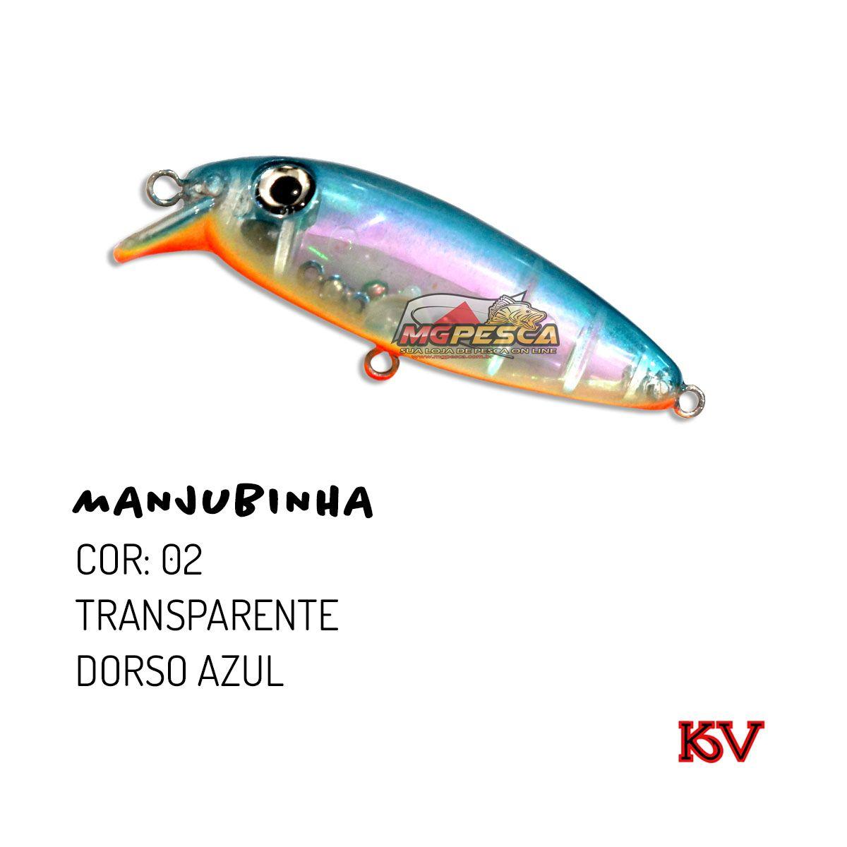 Isca Artificial KV Manjubinha 70 - 9g  - MGPesca