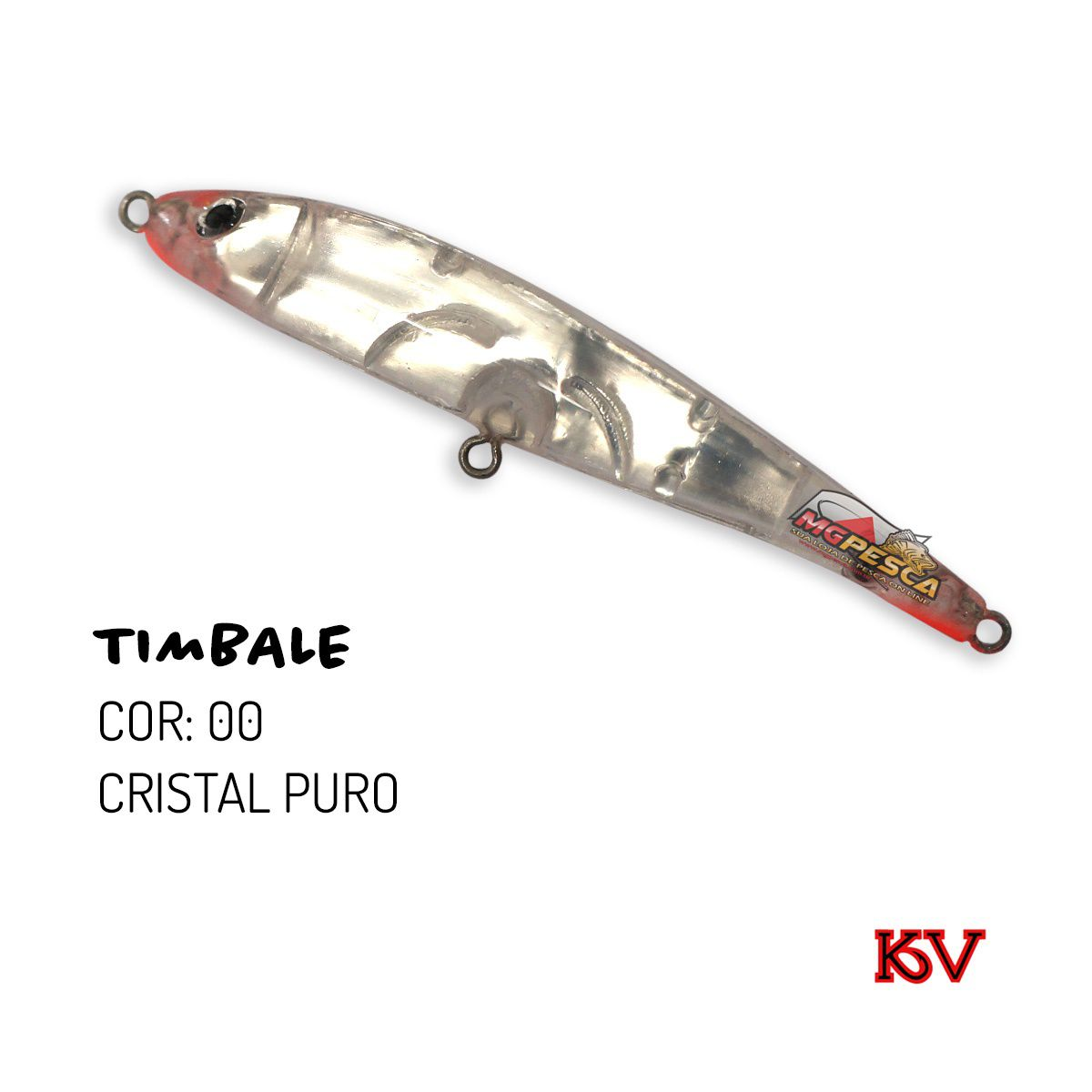 Isca Artificial KV Timbale 90 - 7g  - MGPesca