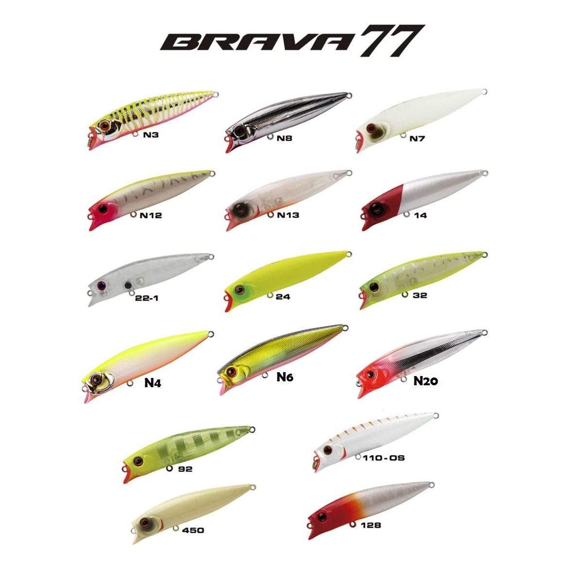 Isca Artificial Marine Sports Brava 77  - MGPesca