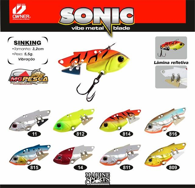 Isca Artificial Marine Sports Sonic 32  - MGPesca