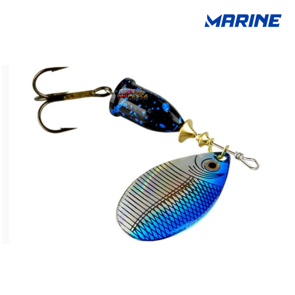 Isca artificial Marine Sports Spinner Laser 7g  - MGPesca