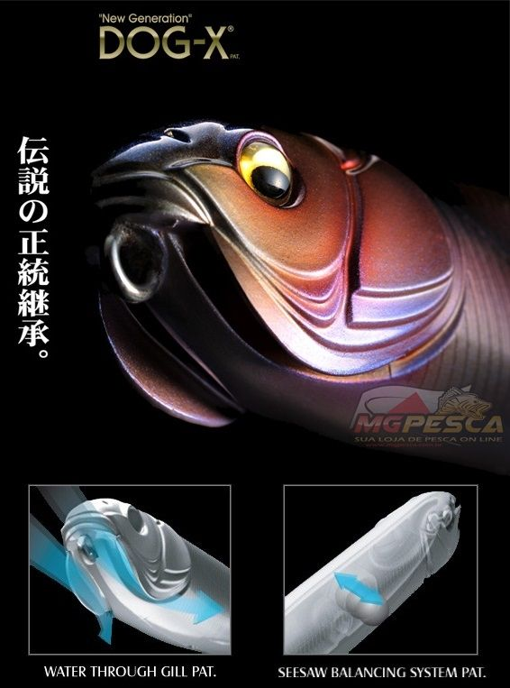 Isca Artificial Megabass New Dog-X Speed Slide  - MGPesca