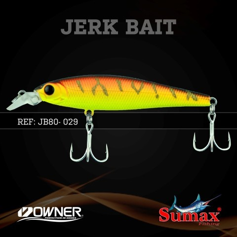 Isca Artificial Sumax JerkBait 80  - MGPesca