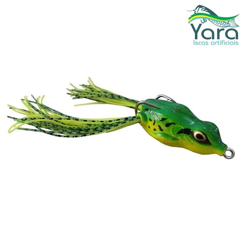 Isca Artificial Yara Crazy Frog 5,5 cm  - MGPesca