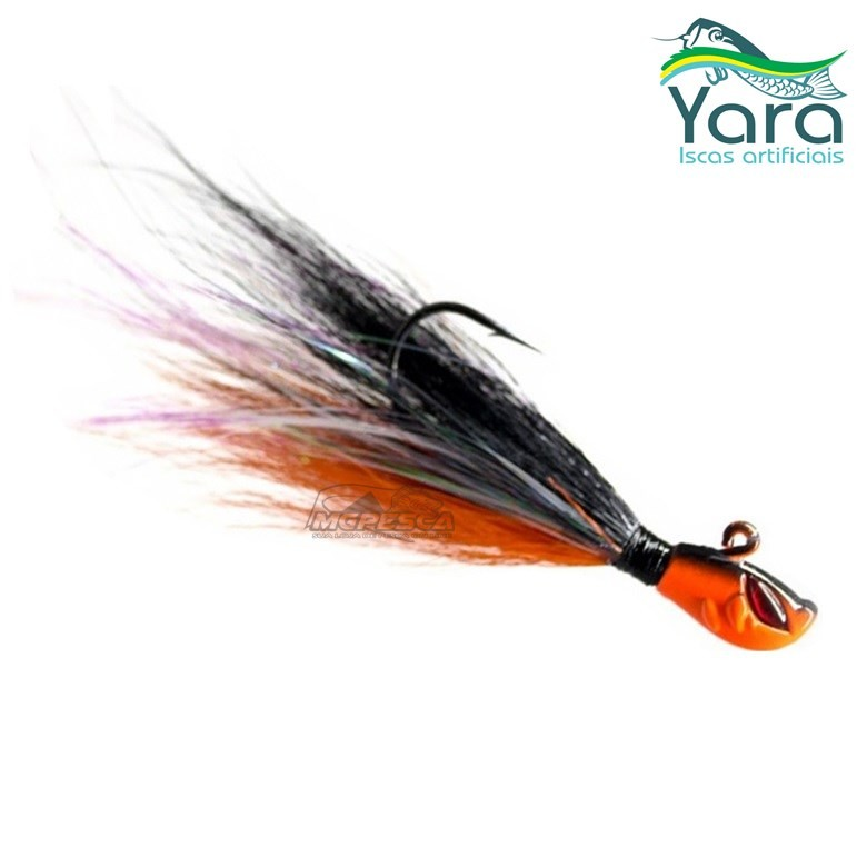 Isca Artificial Yara Killer Jig 10g 2/0 By Eduardo Monteiro  - MGPesca