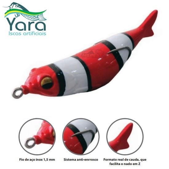 Isca Artificial Yara Snake Fish  - MGPesca